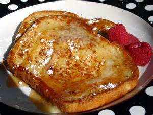 a french toast breakfast
